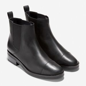 NWT Cole Haan Waterproof Grand Leather Booties